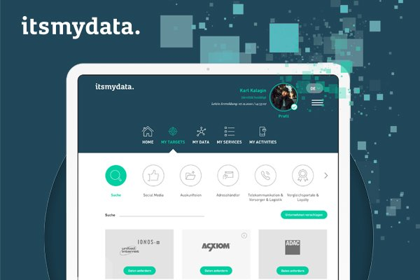 Personal data management platform for user data stored by EU-based companies.
