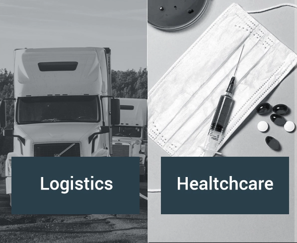 Experience in IoT applications for the logistics and healthcare sectors.