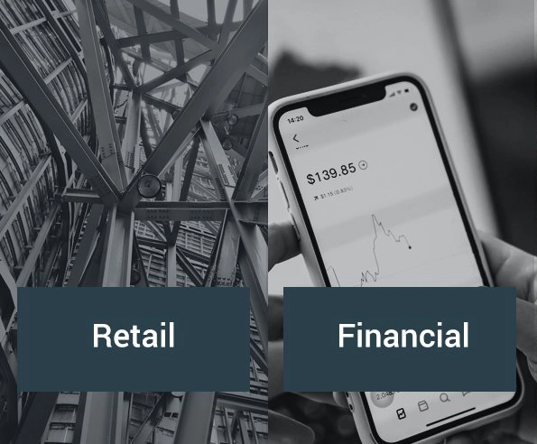 Big data consulting experience in the retail and financial sectors.