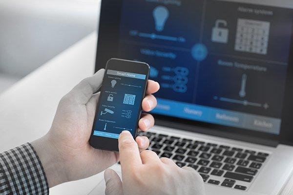 IoT services: IoT mobile app development.