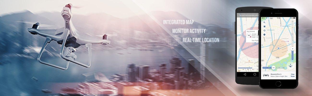 Mobile app development project: unmanned traffic management.