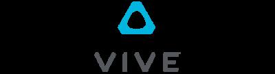 VR/AR app development: Vive logo.