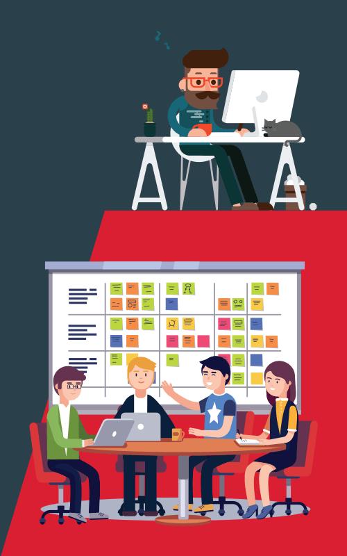 Mobile development agency versus freelancer