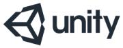 Unity 3D logo.